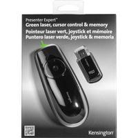 Kensington Presenter Expert Green Laser Presenter with Cursor Control and Memory fjernbetjening til præsentation - sort