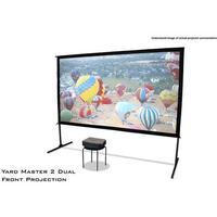 Elite Screens Yard Master 2 WV-Dual udendørs lærred, 299x168