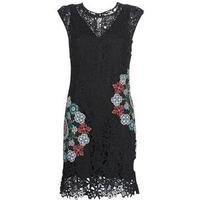 2000 Black  mönstrad klänning VEST_MAGGY svart  Desigual  Kjoler
