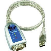 MOXA USB til seriel adapter, RS-232/422/485, DB9han, terminalblock ada