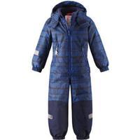 reima tec Kiddo Flyverdragt Snowy blue - blå - Gr.Børnemode (2-6 år)