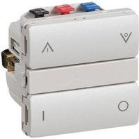 LK IHC Wireless Fuga Kombi relæ, 1 modul, Lysegrå