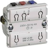 LK IHC Wireless FUGA Kombi relæ, LED, 1 modul, Uden afdækning