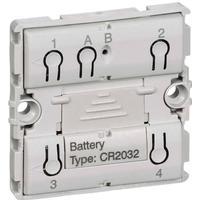 LK IHC Wireless FUGA Jalousi batteritryk, 1 modul, Uden afdækning