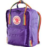 Fjällräven Kånken Rainbow Mini - Purple/Rainbow Pattern