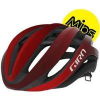 Giro Aether Mips cykelhjelm, lys rød/mørk rød fade