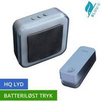 Trend Trådløs Dørklokke premium Bluu 1 til batteri, koksgrå