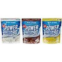 Body Attack Power Protein 90 Bags Mixed Pack (3 x 500 g Chocolate/Vanilla/Banana Cream (1 x 1.5 kg