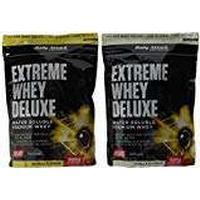 Body Attack Extreme Whey Deluxe, Banana Cream, Vanilla, 1800 g – 2 Piece