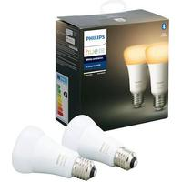Philips Hue White Ambient LED Lamps 8.5W E27 2-pack
