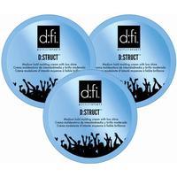 D:fi 3-pack D:fi D:struct Molding Cream 75g