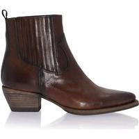 PIEDI Billi Bi 7424 Chelsea Støvle med Grøn detalje bagtil