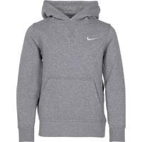 la mejor calidad para descuento en venta tiendas populares Nike YA76 Brushed Fleece Pullover - Dark Grey Heather / White ...