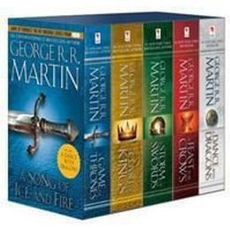 Game of Thrones, 5 vol box (Pocket, 2014), Pocket