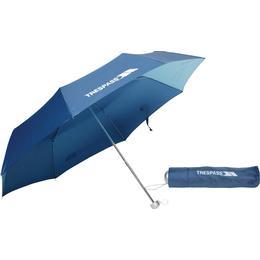 Trespass Compact Umbrella Blue