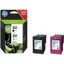 HP 301 (N9J72AE) 2-pack (Black)