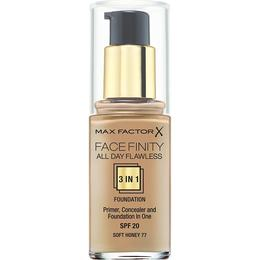 Max Factor Facefinity All Day Flawless 3 in 1 Foundation SPF20 #77 Soft Honey