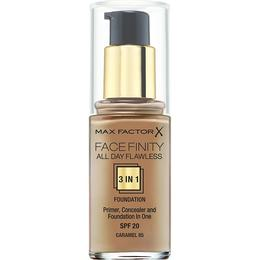 Max Factor Facefinity All Day Flawless 3 in 1 Foundation SPF20 #85 Caramel
