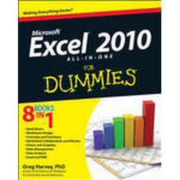 Excel 2010 All-in-One for Dummies (Häftad, 2010), Häftad