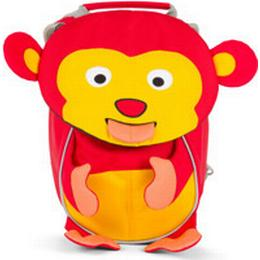 Affenzahn Marty Monkey Small - Red/ Yellow