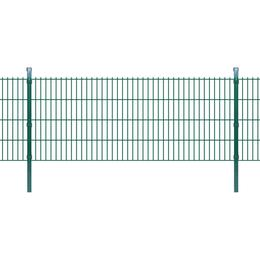 vidaXL 2D Garden Fence Panels & Posts 38mx83cm