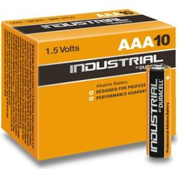 Duracell AAA 1.5V Industrial (10 pcs)