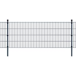 vidaXL 2D Garden Fence Panels & Posts 20mx83cm