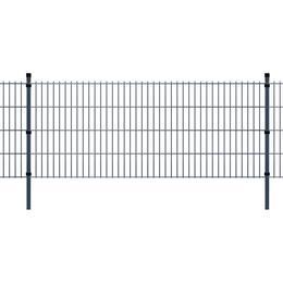 vidaXL 2D Garden Fence Panels & Posts 24mx83cm