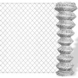 vidaXL Chain Link Fence 15mx125cm