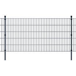 vidaXL 2D Garden Fence Panels & Posts 10mx103cm