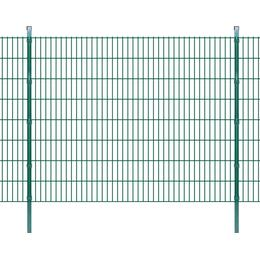 vidaXL 2D Garden Fence Panels & Posts 46mx163cm