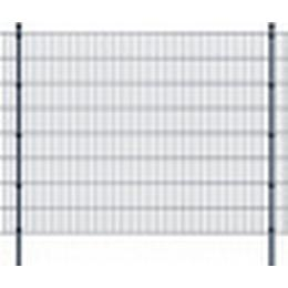 vidaXL 2D Garden Fence Panels & Posts 42mx163cm