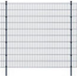 vidaXL 2D Garden Fence Panels & Posts 28mx203cm