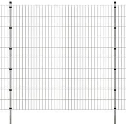vidaXL 2D Garden Fence Panels & Posts 20mx203cm