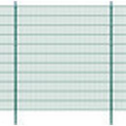 vidaXL 2D Garden Fence Panels & Posts 46mx223cm
