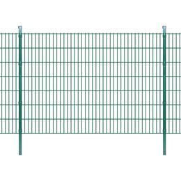 vidaXL 2D Garden Fence Panels & Posts 24mx143cm