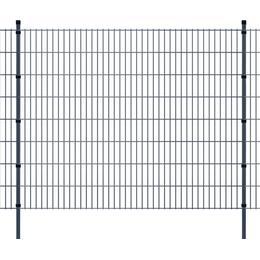 vidaXL 2D Garden Fence Panels & Posts 48mx163cm