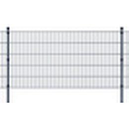 vidaXL 2D Garden Fence Panels & Posts 26mx103cm