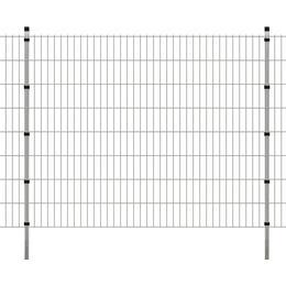 vidaXL 2D Garden Fence Panels & Posts 24mx163cm