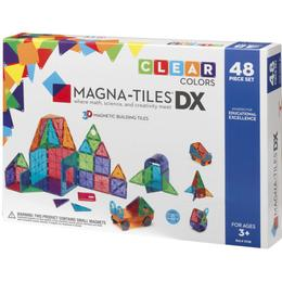 Magna-Tiles Clear Colors Deluxe Set 48pcs
