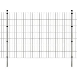 vidaXL 2D Garden Fence Panels & Posts 18mx143cm