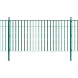 vidaXL 2D Garden Fence Panels & Posts 16mx103cm