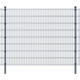 vidaXL 2D Garden Fence Panels & Posts 30mx163cm