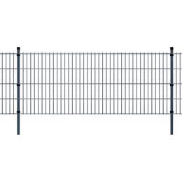 vidaXL 2D Garden Fence Panels & Posts 26mx83cm
