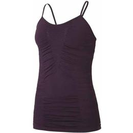 Casall Knitted Brushed Straptank Women - Plum Perfect