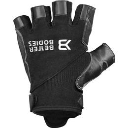 Better Bodies Pro Gym Gloves - Black/Black