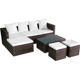 vidaXL 42585 Loungesæt, 1 borde inkl. 1 sofaer