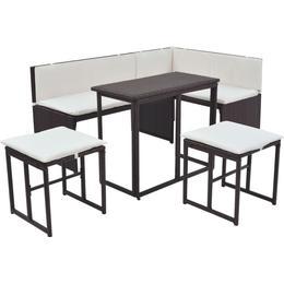 vidaXL 42879 Sofa Loungesæt, 1 borde inkl. 2 sofaer