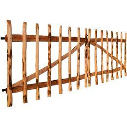 vidaXL Double Fence Gate 300x100cm