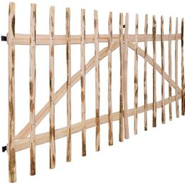 vidaXL Double Fence Gate 300x150cm
